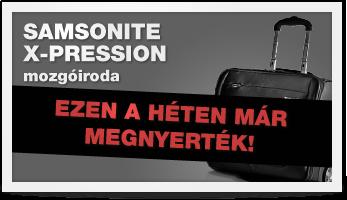 SAMSONINE X-Pression mozgóiroda