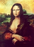 Kacér Mona - Mona Lisa feldolgozás     olaj-farost-lakk