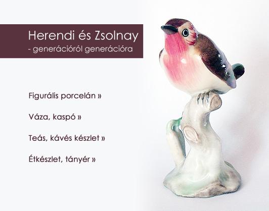 Herendi és Zsolnay