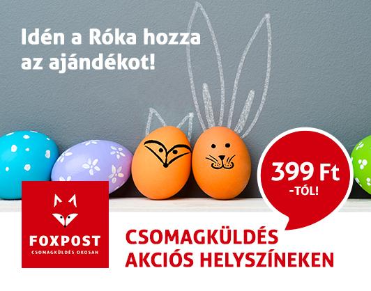 foxpost húsvét